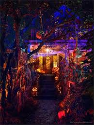 Scary Halloween House Decorations Halloween Lighting Best Halloween House Decorations Diy Indoor