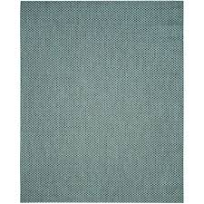 Indoor Outdoor Rugs Home Depot by Safavieh Courtyard Turquoise Light Gray 8 Ft X 11 Ft Indoor