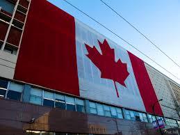 Flag British Columbia Giant Canadian Flag Winter Olympic Week 2 Vancoolver Photos