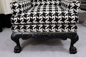 bathroom wingback armchairs and houndstooth chair