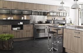 cuisine bois et gris formidable cuisine bois et blanc laque 5 cuisine m100