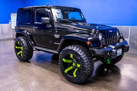 lime green jeep wrangler 2012 for sale 2012 jeep wrangler cod mw3 rubicon 4x4 for sale northwest