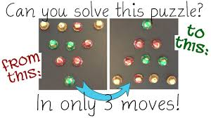 10 dot triangle puzzle can you solve in 3 moves youtube