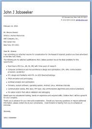 cover letter research scientist letters font
