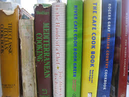a vector illustration of library book shelf with text books for