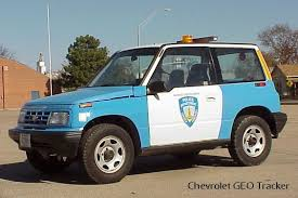 chevy tracker 1995 lincoln police history