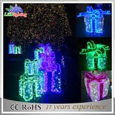 Christmas Outdoor Decorations Gift Boxes by China Holiday Outdoor Decoration Garden Waterproof Led Gift Box