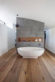 dwell bathroom ideas this look in the bathroom timber wall tiles with grey
