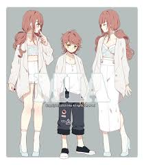 Anime Character Design Ideas 170 Best Anime Fashion Images On Pinterest Character Design