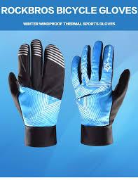 best winter waterproof cycling jacket rockbros winter waterproof full finger touch scree cycling gloves