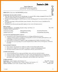 Sample Resume For Bookkeeper Accountant by Bookkeeper Sample Resume Resume For Your Job Application