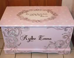 Build A Toy Box With Lid by Hope Chest Etsy