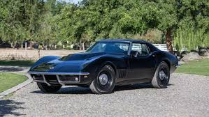 1968 corvette parts for sale black 1968 corvette 427 435 to be offered at mecum s monterey