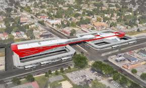 Chicago Redline Map by Cta 95th Dan Ryan Station Improvements