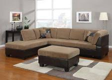 Reversible Sectional Sofas Corduroy Sectional Sofas Loveseats U0026 Chaises Ebay