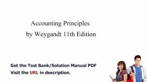 practice test bank for accounting principles by weygandt 11th