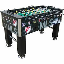 major league soccer table major league soccer deluxe foosball table
