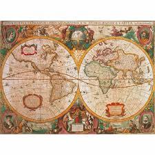 Ancient Map Jigsaw Puzzle 1000 Pieces Ancient Map Clementoni 31229 1000