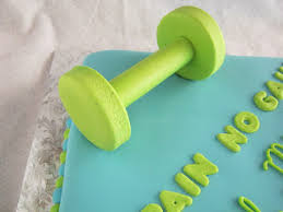 How To Make Sugar Glue Cake Decorating Dumbbell Cake When At First You Don U0027t Succeed Rose Bakes