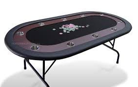poker table with folding legs 84 deluxe poker table black suited speed felt folding legs