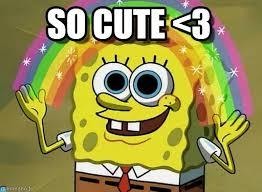 So Cute Meme - so cute 3 imagination spongebob meme on memegen