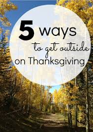 thanksgiving outside activities divascuisine
