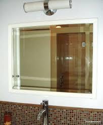 unique bathroom mirror frame ideas home design inspirations