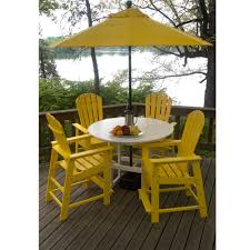 Woodard Belden Padded Sling Aluminum Hi Top Outdoor Furniture Bar Patio Furniture And Counter