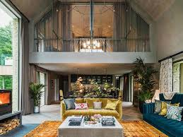 barn house interior supermodel kate moss decorated a luxe english country house curbed