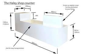 Retail Reception Desk Desk Reception Desk Height Uk Reception Desk Size Desk Size And