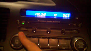 honda civic 2008 coupe radio youtube