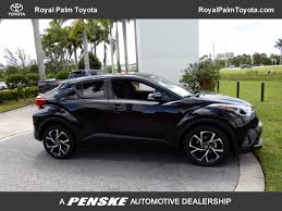 toyota new c hr 2018 new toyota c hr xle fwd at penske automotive florida