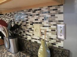 self adhesive kitchen backsplash peel and stick kitchen backsplash self stick glass tile backsplash