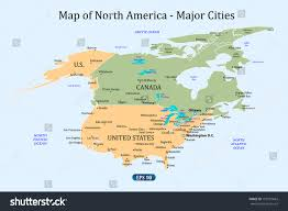 Usa Highway Map Map Of Canada With Major Cities Derietlandenexposities Major