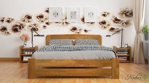 4ft Wooden Bed Frame New Small Solid Wooden Pine Bedframe F1 With Slats 4ft