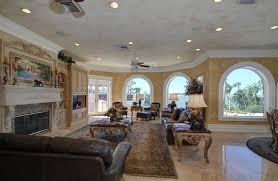 living room in mansion 12 9 million mediterranean waterfront mansion in clearwater fl