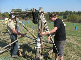 boy scouts build catapults for annual camporee news examiner