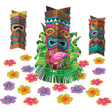 Table Party Decorations Tiki Party Table Party Decorations Kit Party Supplies U0026 Decorations