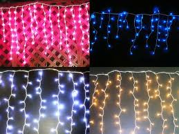 connectable led icicle light led curtain string light holiday