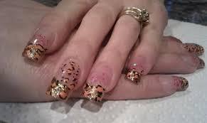 glitter acrylic nails nail art gallery