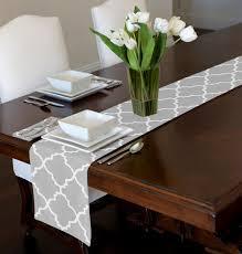 table runner for coffee table coffee table coffee table runner amazon com grey white trellis mat