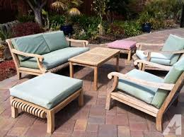 Teak Patio Chairs Interesting Smith And Hawken Teak Patio Furniture Set On In