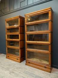 Barrister Bookcase Door Slides Antique Bookcase With Doors English Antique Furniture Antique