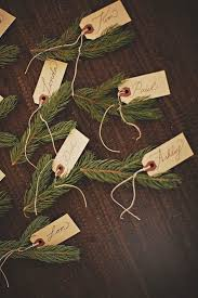 diy place cards for fall and winter popsugar home