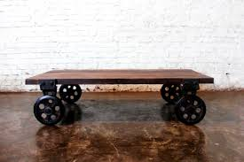 ana white factory carts to coffee tables diy projects old railway