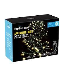 Led Cluster Lights Zaplites Basic 368 Warm White Led Cluster Lights