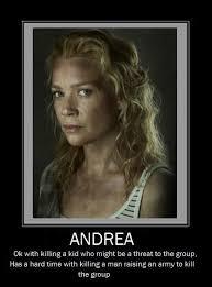 Meme Andrea - andrea stahp the walking dead the walking dead meme twd memes