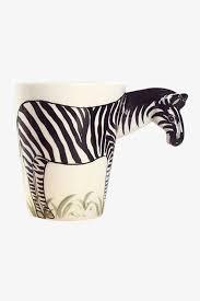 hand painted zebra caffe u0027 latte mug zebra painting latte and
