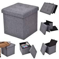 cube ottoman ebay