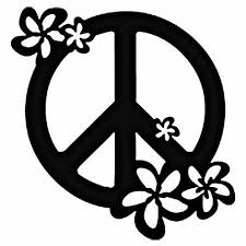 peace sign black and white free best peace sign black
